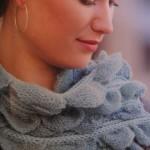 Mia Brioche-Stitch Scarf