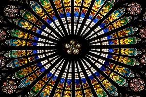Strasbourg Cathedral Window