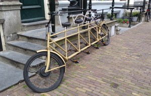 Bicycle Built for FOUR!