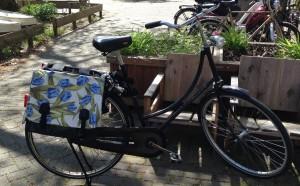 New Blue Tulip Bag