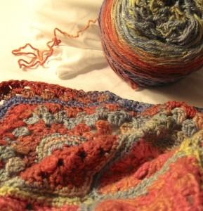 Current Car Crochet Project