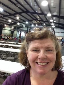 Selfie with Festival in Barn