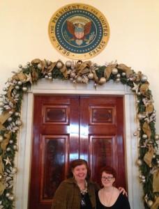 A & A at Prez's Door