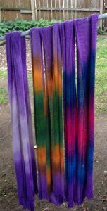 (L-R) Lilac FLOW, Iris FLOW & Hydrangea FLOW