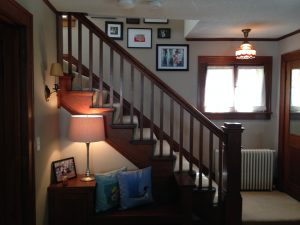 New House Stairway
