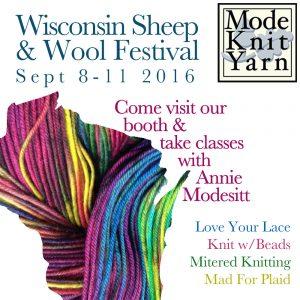 We'll be in Wisconsin, Teaching & Vending Sept 8-11.